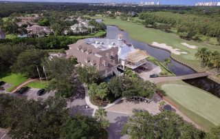 Bay Colony Golf Club House New Roof Clubhouse