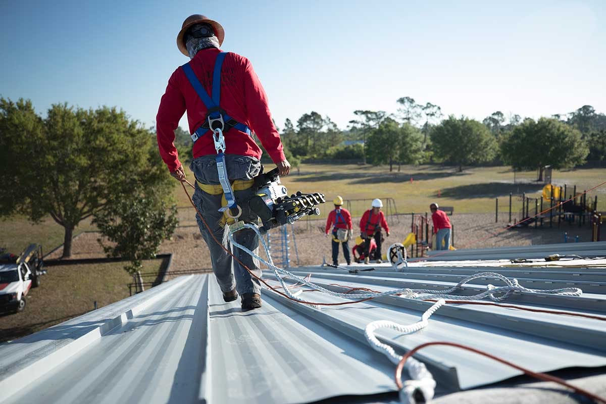 Mirror Lakes Elementary Target Roofing