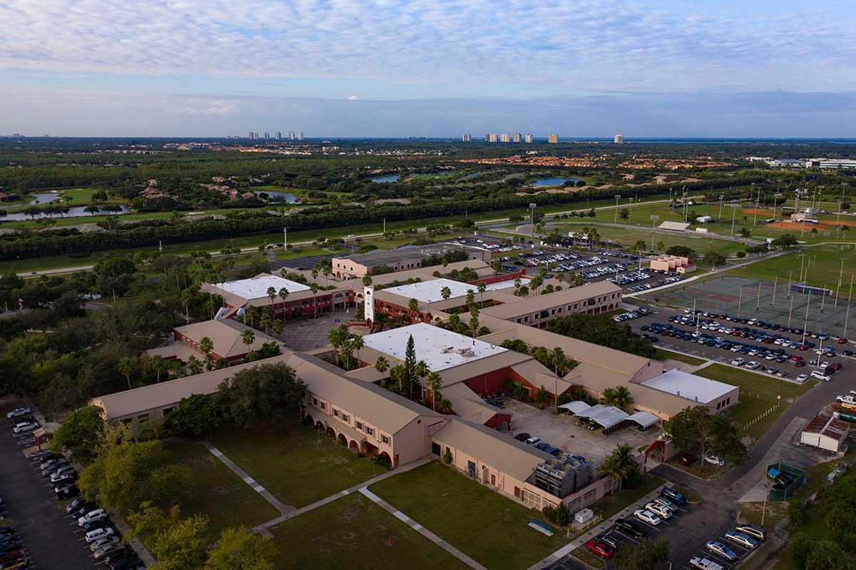 Estero High School Target Roofing