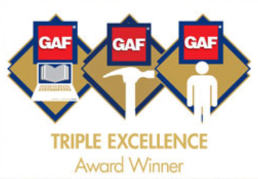 GAF Triple Excellence Award Winner