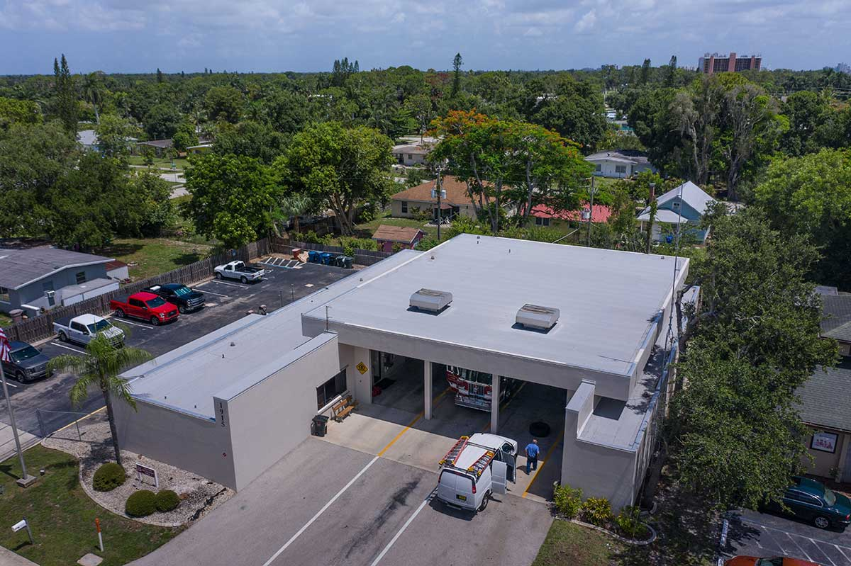 Fort Myers Fire Station Fort Myers Fl Target Roofing
