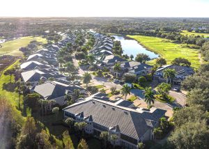 Triana Fort Myers Home Owners Association Image with Drone