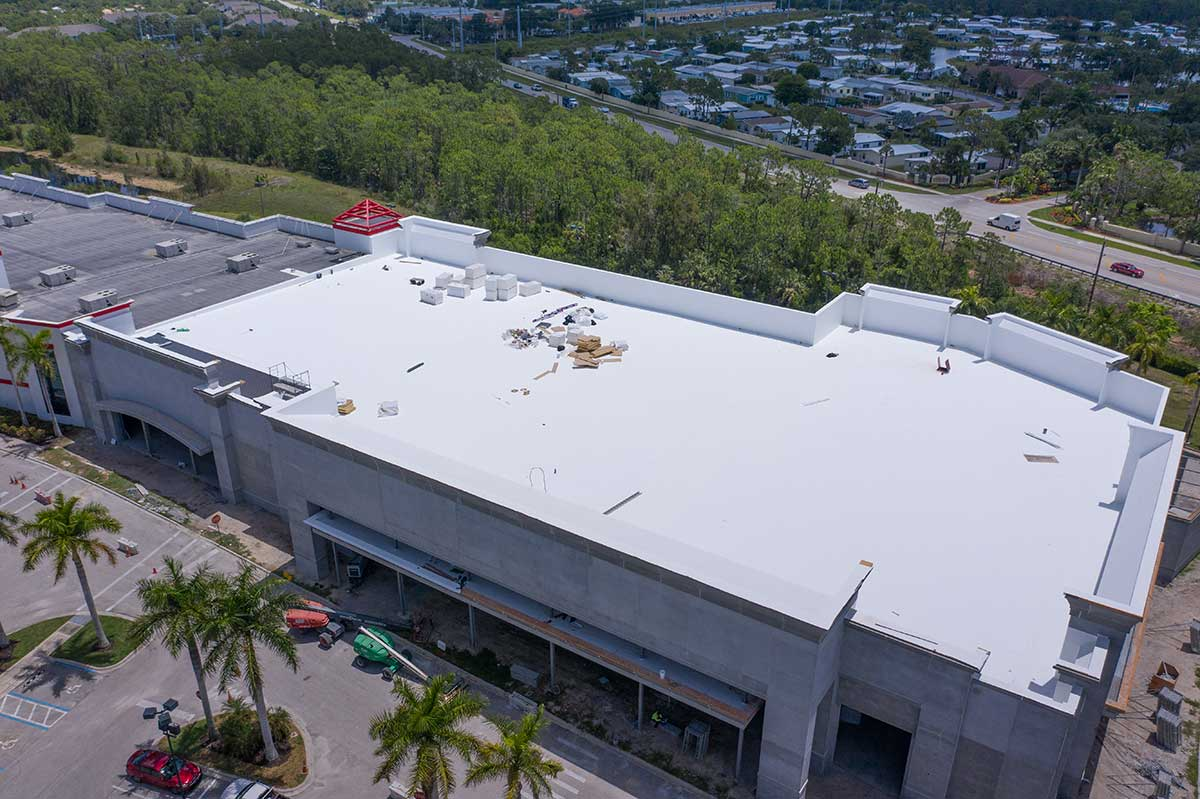Market Place Commons Fort Myers Fl Target Roofing
