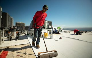 Flat roofs in Florida require precision, special attention