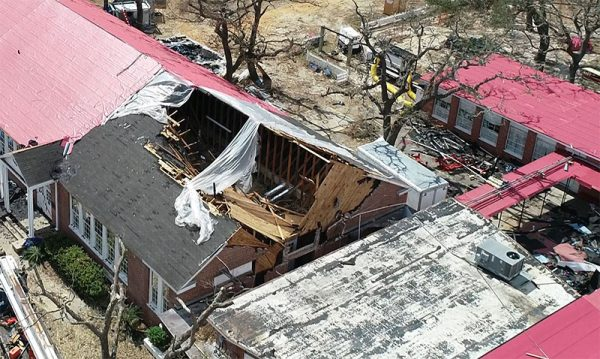 Destroyed Commercial Roof Featured Image