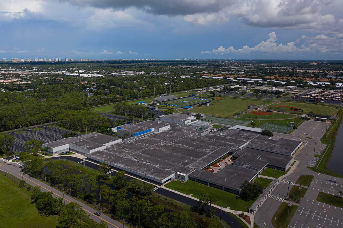 Barron Collier High School Naples Fl Target Roofing