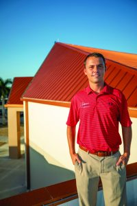 Casey, President of Target Roofing