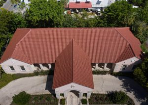 Boca Grande Health Clinic Roof Reroofing Project in Boca Grande Florida