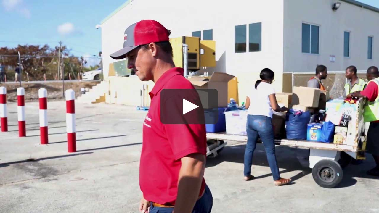 Target Roofing Donates Hurricane Dorian Relief Supplies to Bahamas