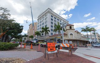Hotel Indigo Downtown Fort Myers Reroof Project Photo