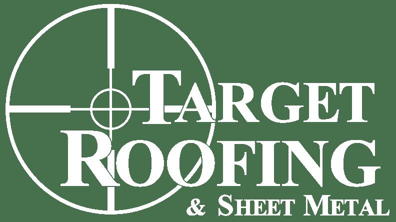 Target Roofing logo white